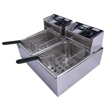 Gas Deep Fryer Potato Frying Machine