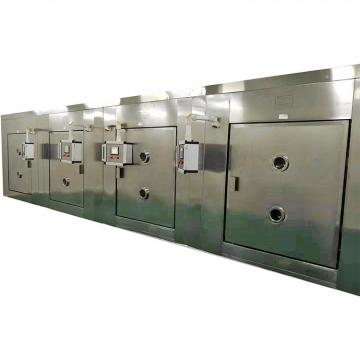 Yellow meal worm Barley insects Tunnel continuous industrial microwave dryer and sterilization machine